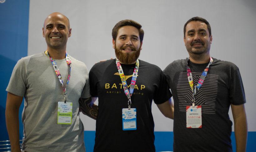 Empresa do setor de drones vence competição na Campus Party