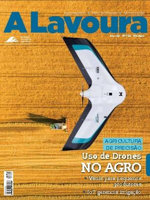 capa revista a lavoura drones