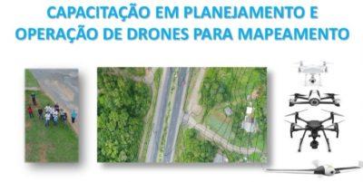 Curso prático: capacitação em planejamento e operação de drones