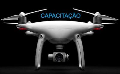 capacitacao no drone phantom