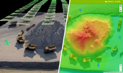 controle de qualidade em imagens de drones