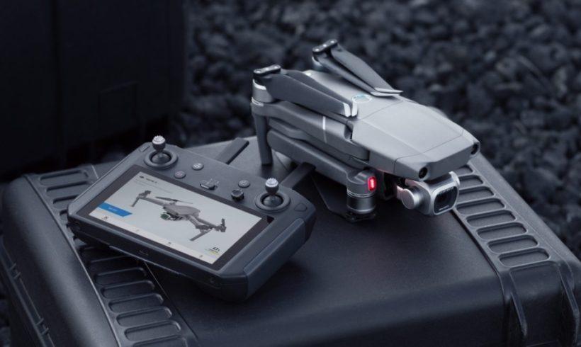 DJI lança Controle Remoto Inteligente com tela embutida
