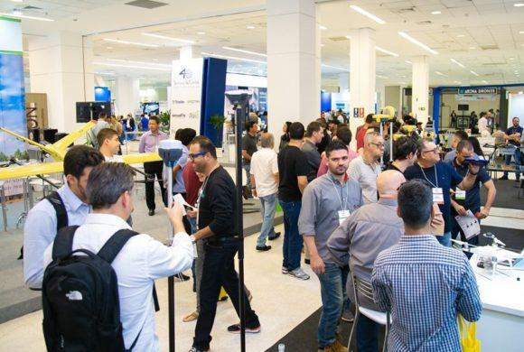 Retomada 2021: confirmadas feiras DroneShow, MundoGEO Connect e SpaceBR Show
