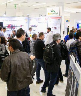 Restam só 10% de espaços livres faltando 90 dias para a DroneShow 2020