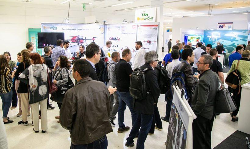 Restam 15% de estandes livres na feira DroneShow e MundoGEO Connect 2020