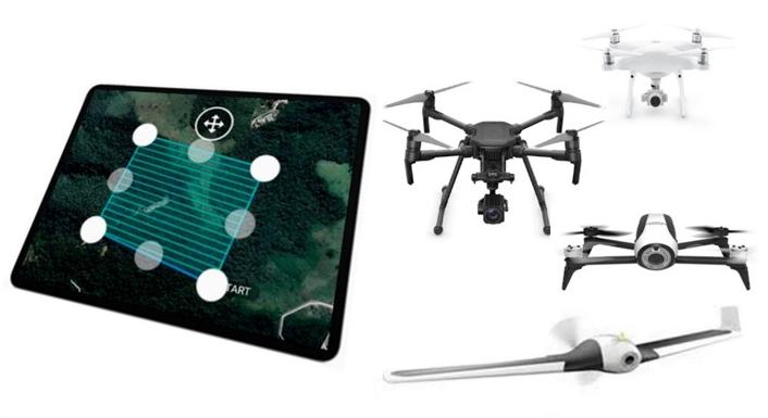 Últimas vagas: capacitação em planejamento e operação de drones
