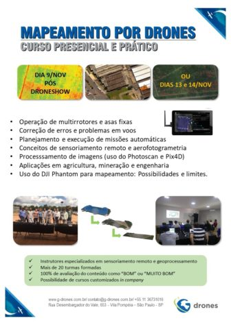 curso pratico de drones para mapeamento