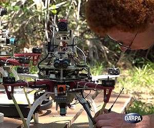 Drones inteligentes encontram o melhor caminho sem ajuda humana ou GPS