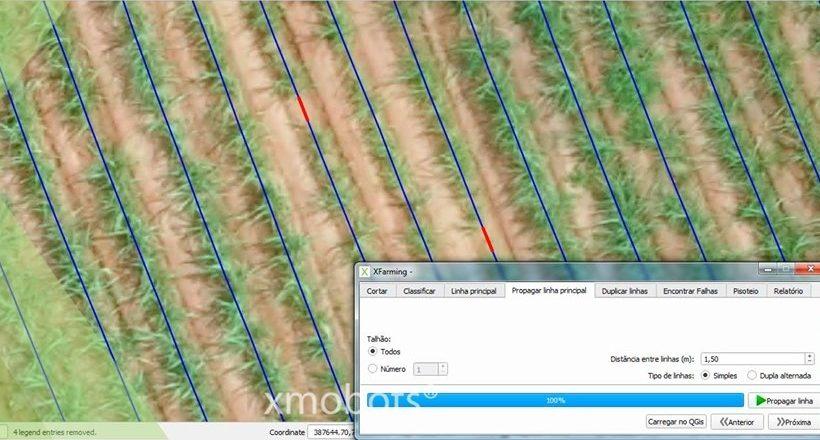 XMobots lança software de pós-processamento com análises para Agricultura