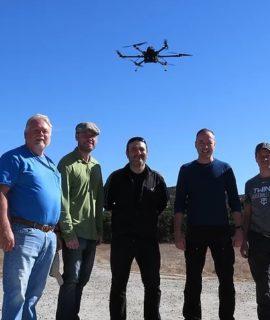 Marinha Americana recebe drone movido por célula a combustível de hidrogênio