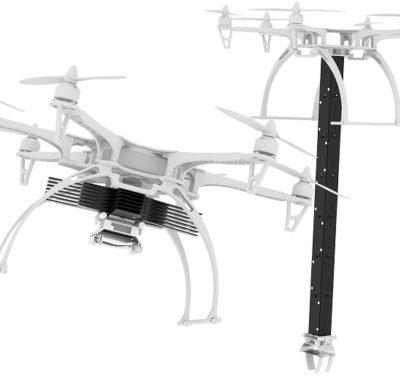 drone com braco robotico