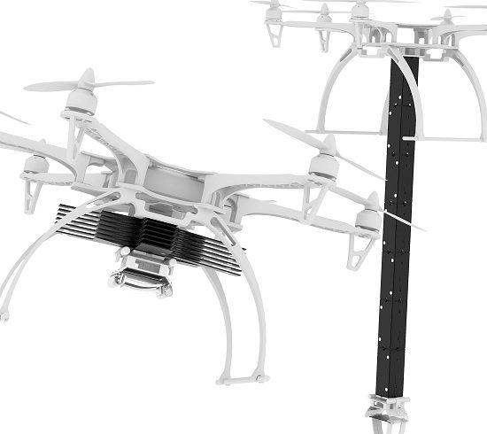 Drone com braço robótico baseado em origami ganha novas funções