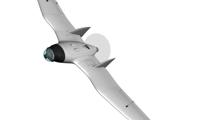 Drone de asa fixa eficiente e de baixo custo é possível!