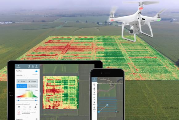 DroneDeploy alcança o marco de 30 milhões de acres mapeados