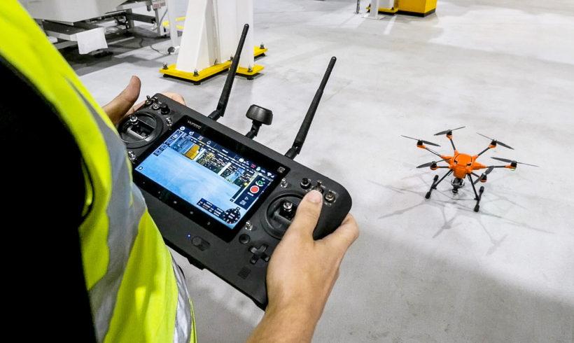 Drones reduzem tempo e riscos de trabalho em fábrica da Ford