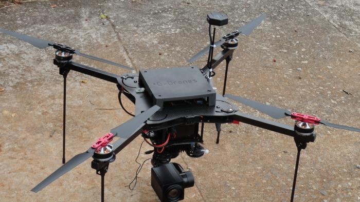 G drones lança novo site com maior interatividade