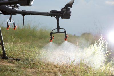 drone no controle de pragas