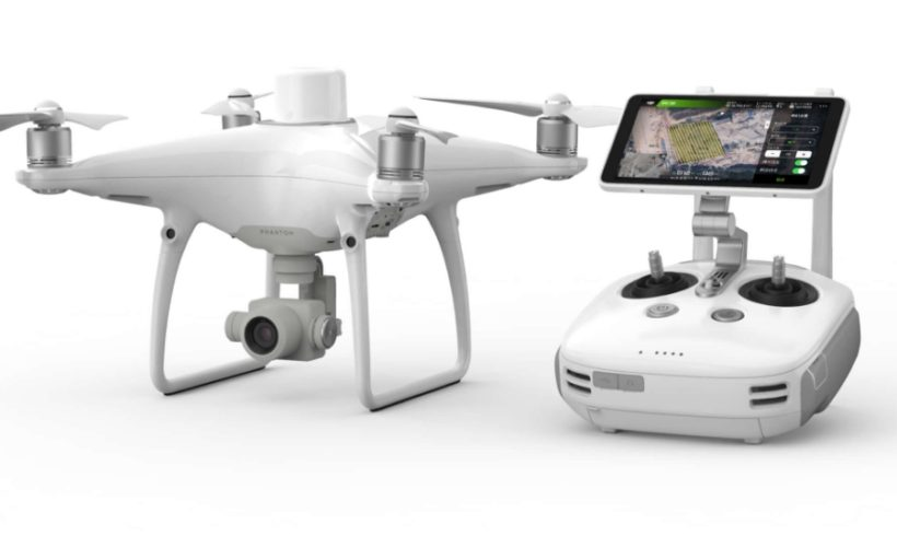 DJI anuncia o lançamento global do drone Phantom 4 RTK