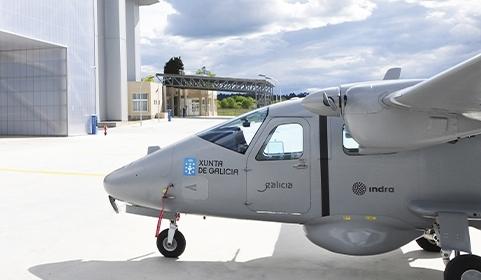Indra inicia testes para colocar em prática o maior drone da Espanha