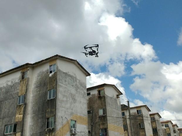 DECEA prioriza análise de pedido de voo de Drones para combate ao Aedes aegypti