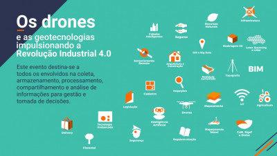 drones e industria quatro ponto zero 400x226 MundoGEO#Connect 2019 anuncia curadores para atividades do evento