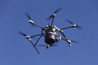 Apresentação e demonstração do projeto piloto de entrega personalizada de refeições por drone