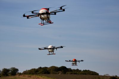 drones em formacao
