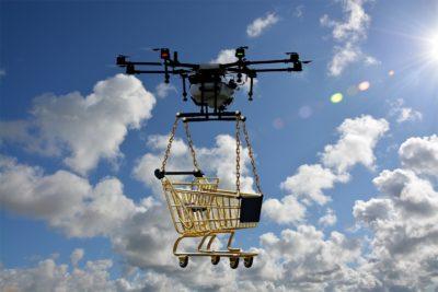 drones para delivery