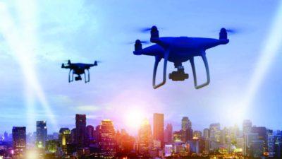 drones para mapeamento urbano