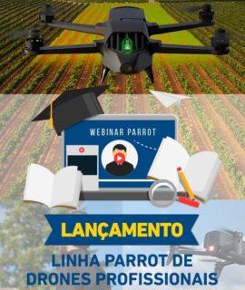 Replay disponível do lançamento oficial dos Drones profissionais Parrot