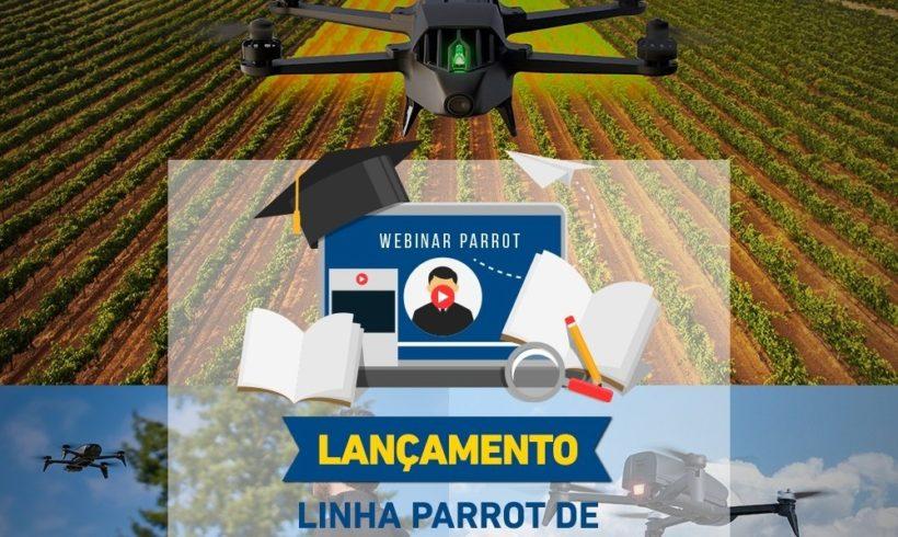 Webinar com inscrição aberta: Lançamento da linha Parrot de Drones Profissionais
