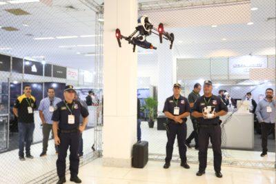 droneshow 2018 - gaiola