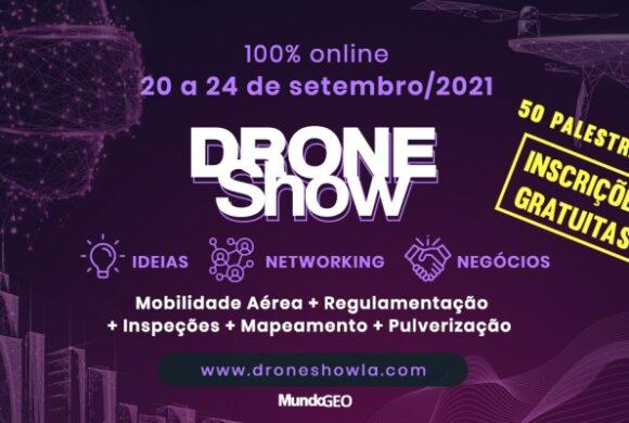 50 palestrantes confirmados na DroneShow 100% online com inscrições gratuitas
