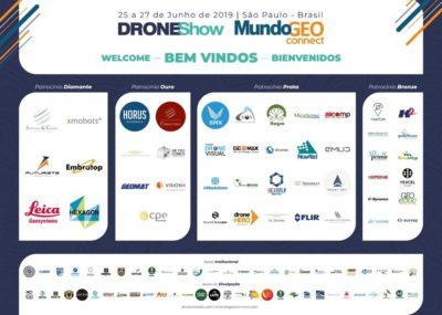 droneshow bem vindos 400x285 DroneShow y MundoGEO 2019 reúnen 3.800 participantes y 110 marcas en la feria