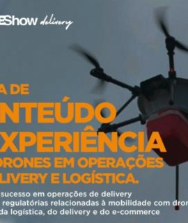 Welcome Tomorrow 2019 recebe evento DroneShow Delivery