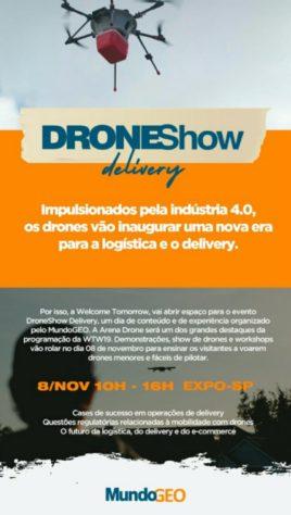 droneshow delivery em sao paulo