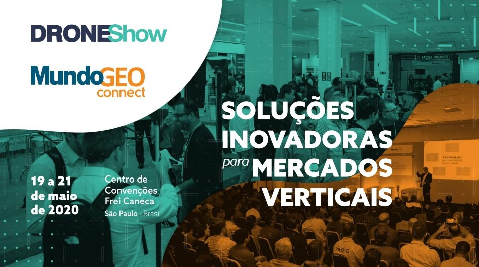 droneshow e mundogeo connect 2020 solucoes inovadoras para mercados verticais