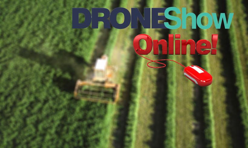 É HOJE! Faça parte do curso ONLINE Drones na agricultura