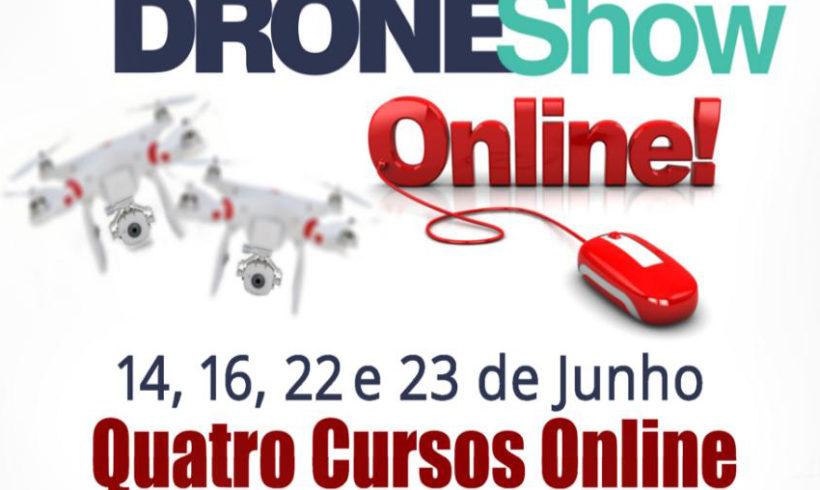 Veja como foi o curso de Pilotagem de Drones do DroneShow Online 2016