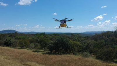 entrega com drone