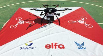 entrega de medicamentos com drones
