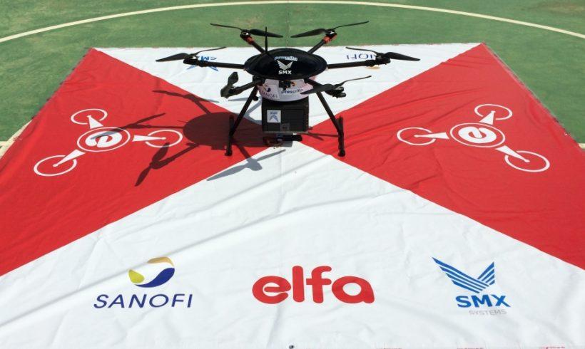 Distribuidora de medicamentos e laboratório investem em entregas com drones