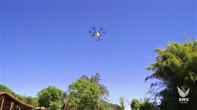 entrega usando drones