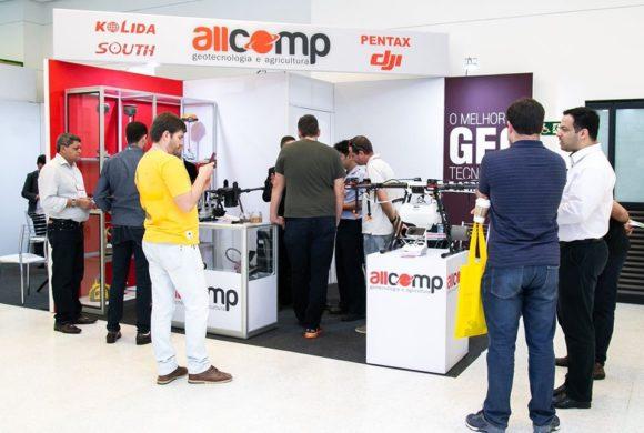 Allcomp confirmada na feira DroneShow e MundoGEO Connect 2021