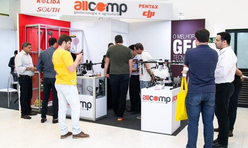 Allcomp confirmada na feira DroneShow e MundoGEO Connect 2021