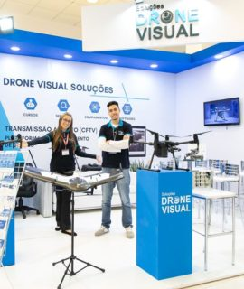 Drone Visual confirmada no DroneShow e MundoGEO Connect 2020