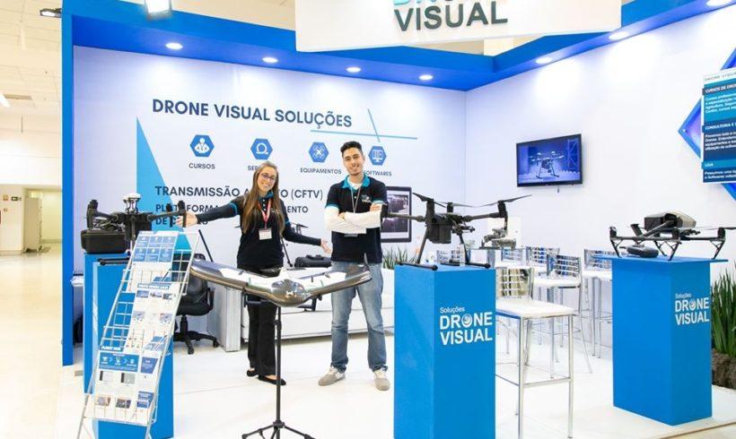 Drone Visual confirmada no DroneShow e MundoGEO Connect 2020