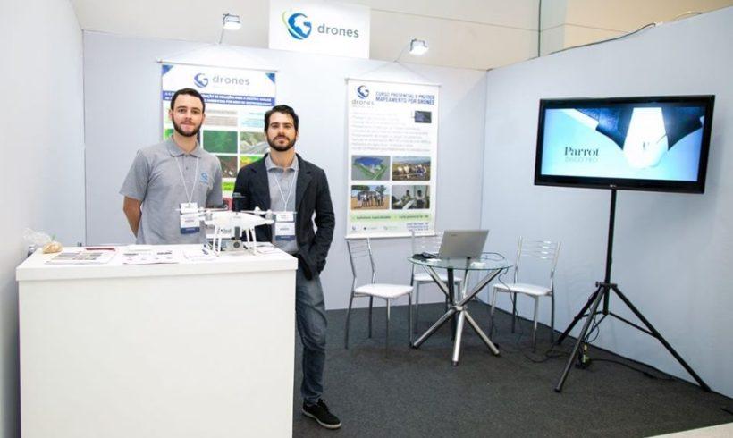 G drones confirmada na feira DroneShow e MundoGEO Connect 2021