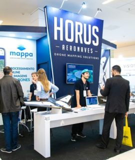 Horus Aeronaves confirmada no DroneShow e MundoGEO Connect 2020