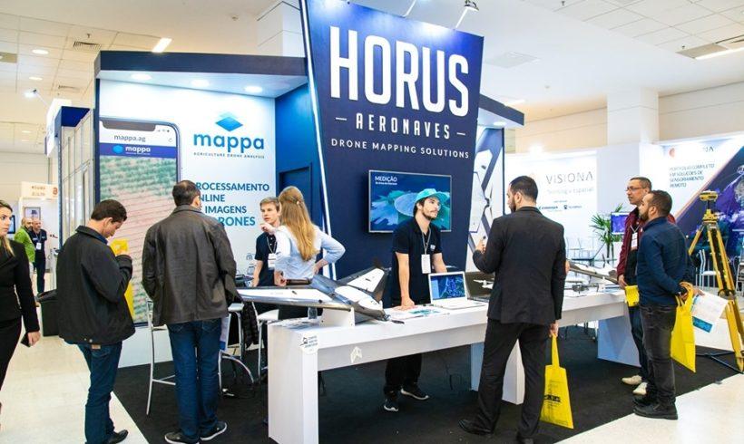 Horus Aeronaves confirmada no DroneShow e MundoGEO Connect 2020